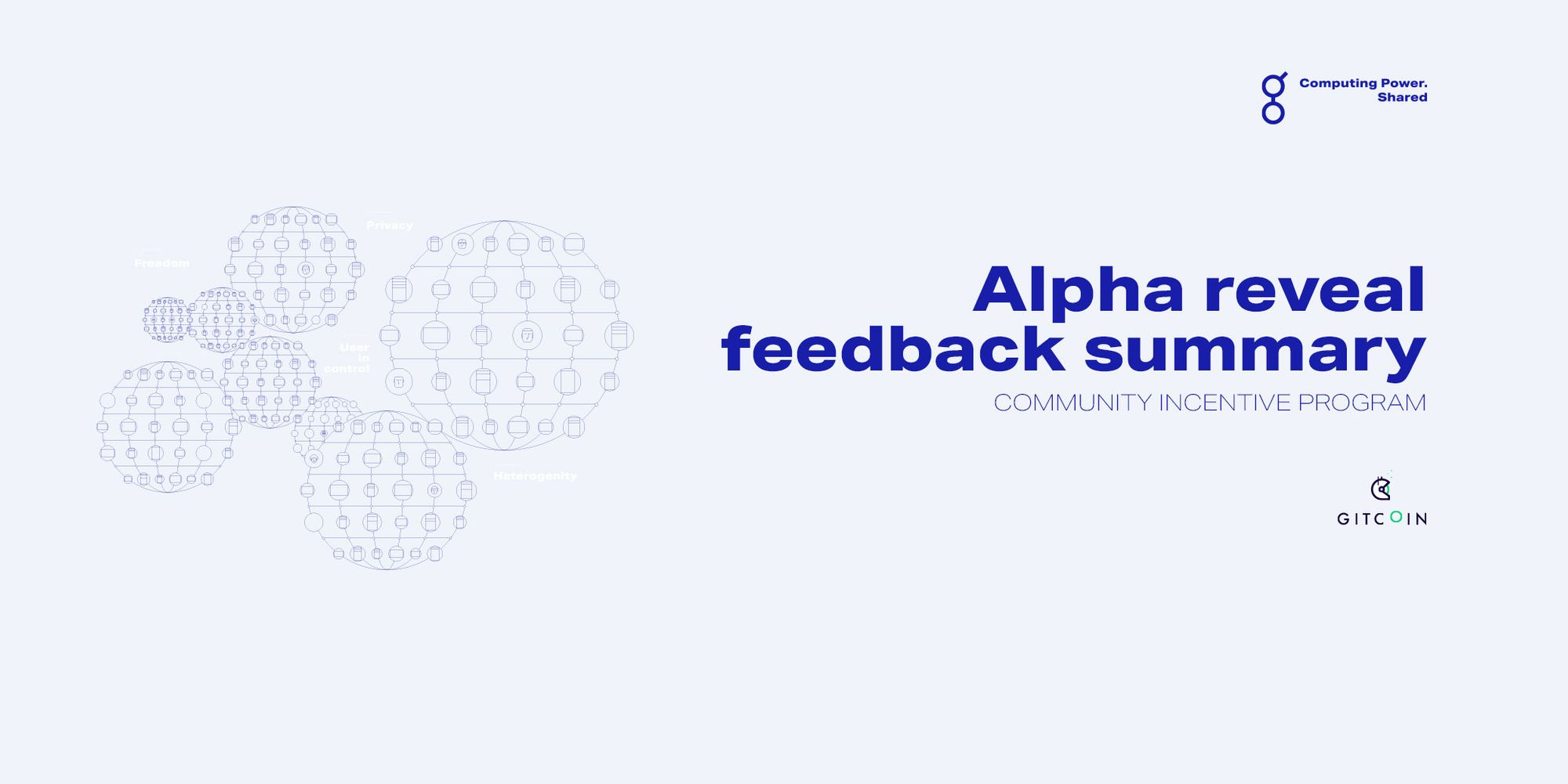 Alpha Reveal: developer feedback summary