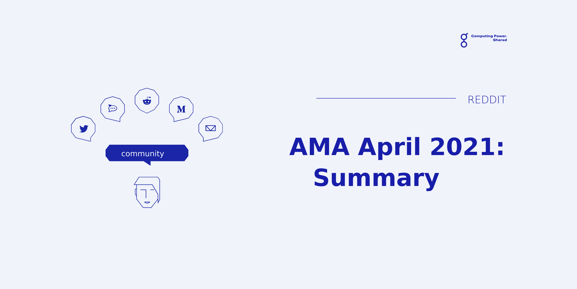 The Best Questions and Answers of the AMA, Summarized! - April 2021