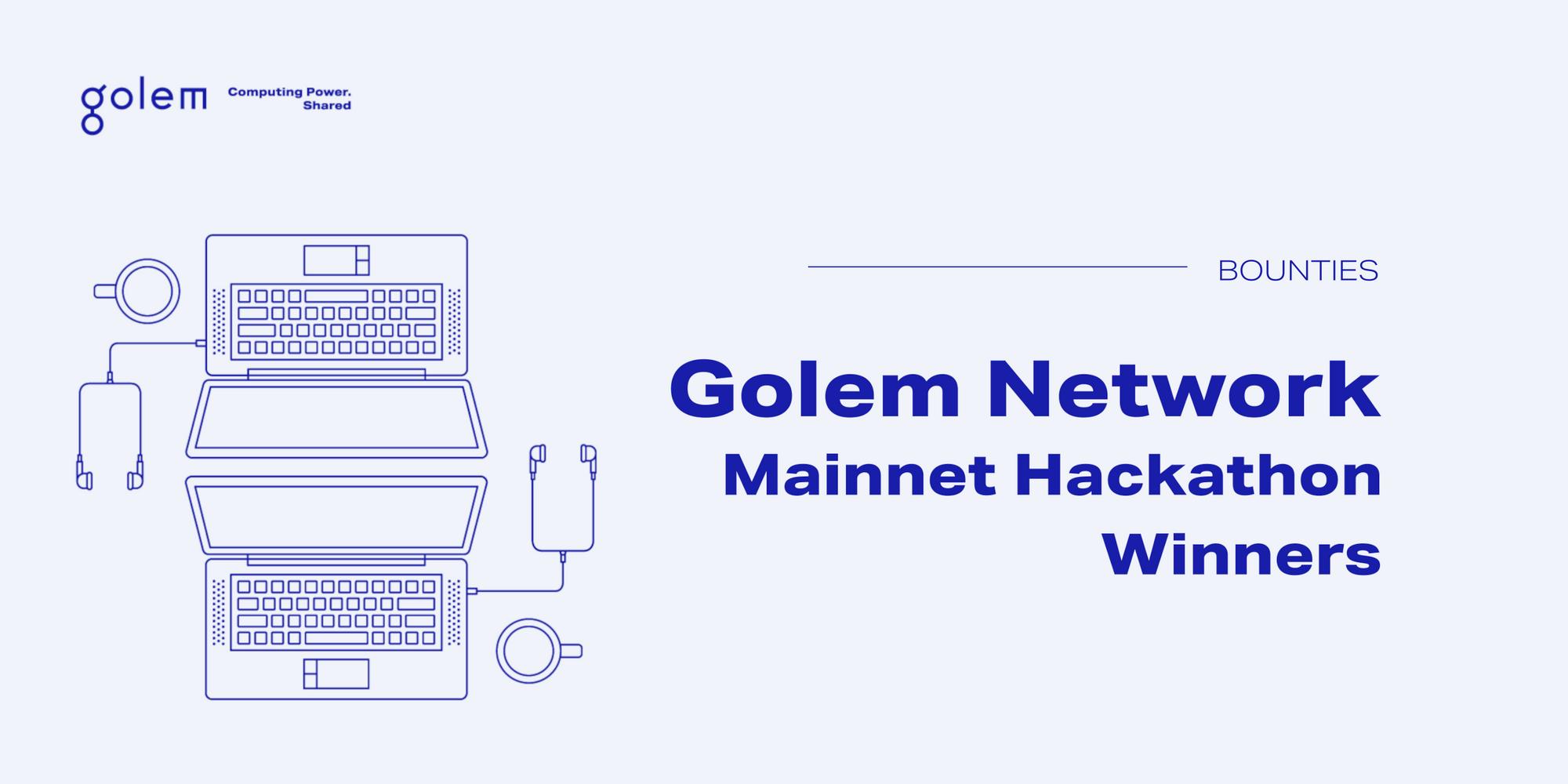 Meet the winners: Golem + Gitcoin GR9 Hackathon 2021