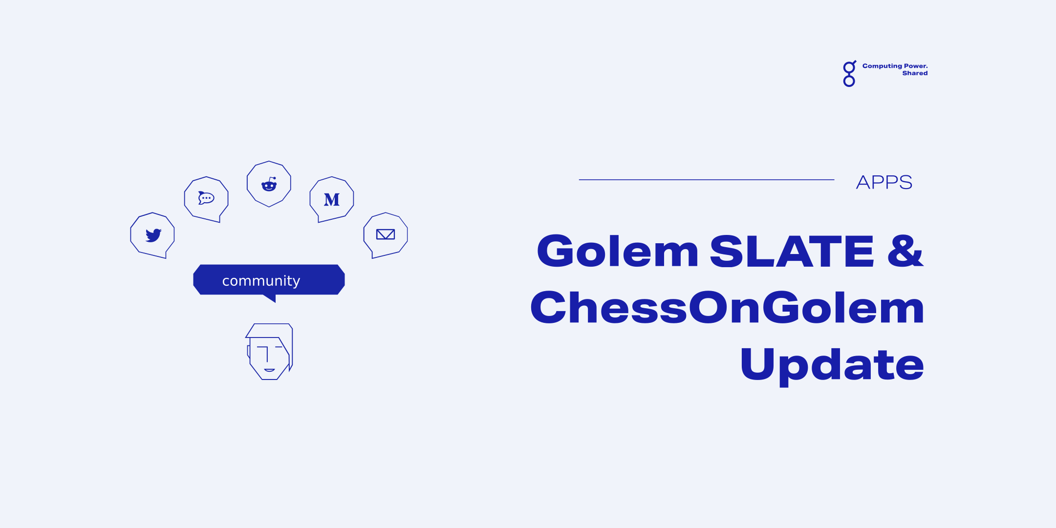 Golem SLATE and Chess on Golem are now on mainnet!