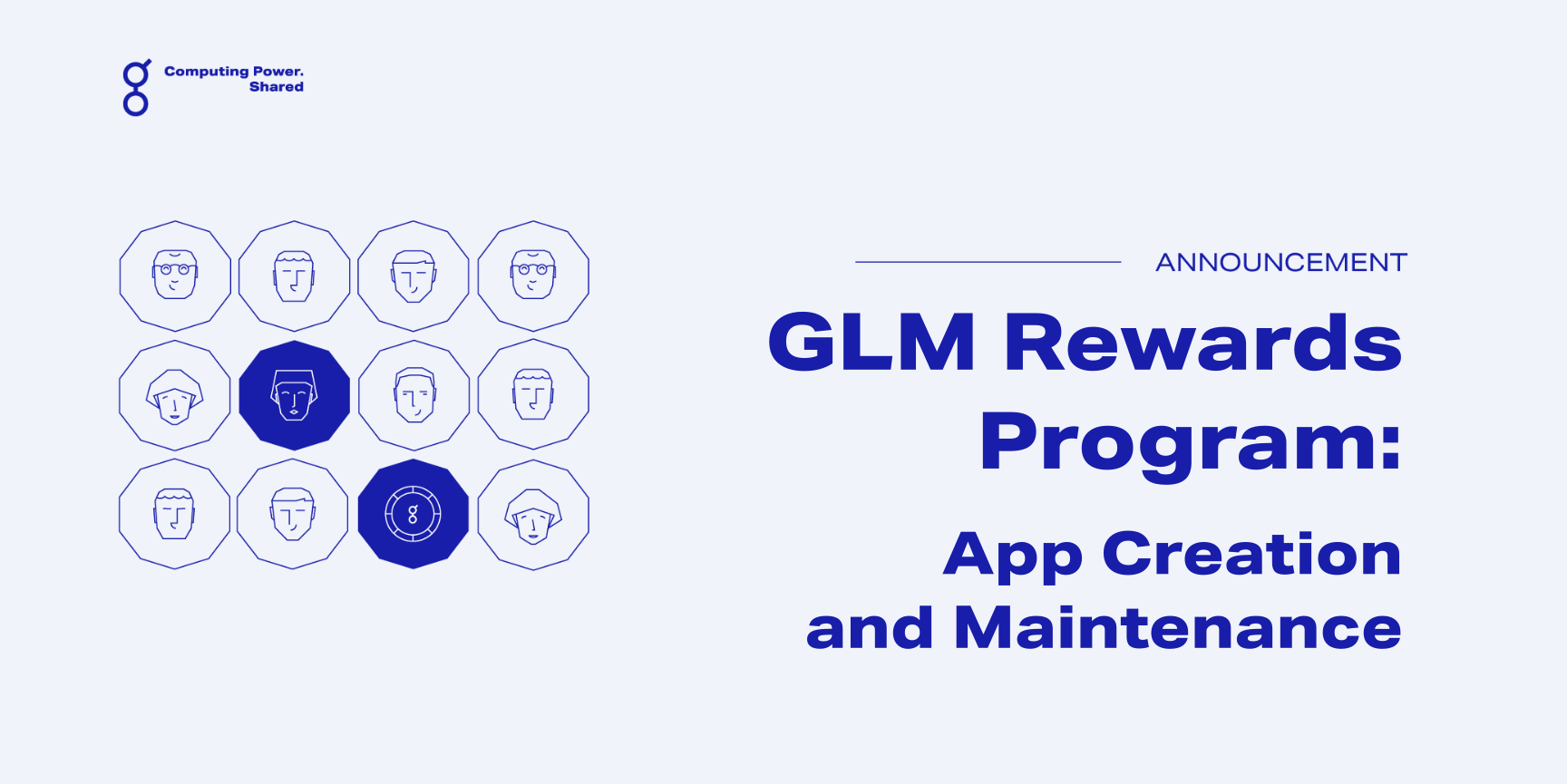 GLM Rewards Program - Application Creation and Maintenance