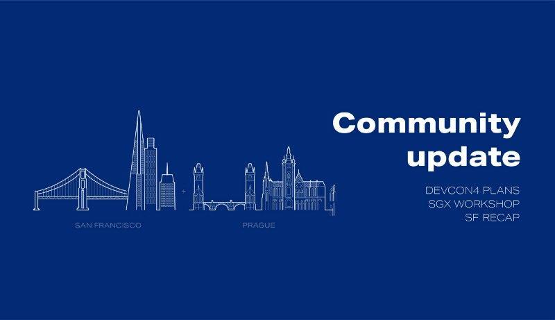 Golem Community Update: DEVCON4 edition