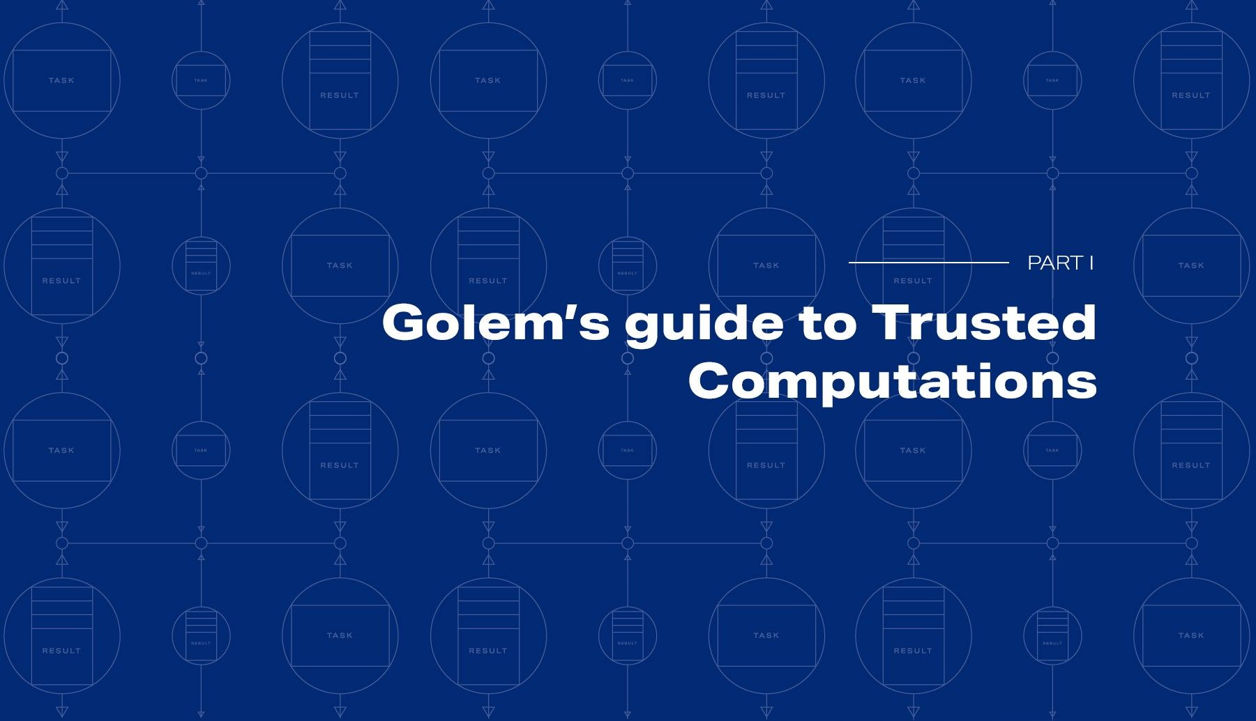 An overview of a computation's lifecycle in Golem