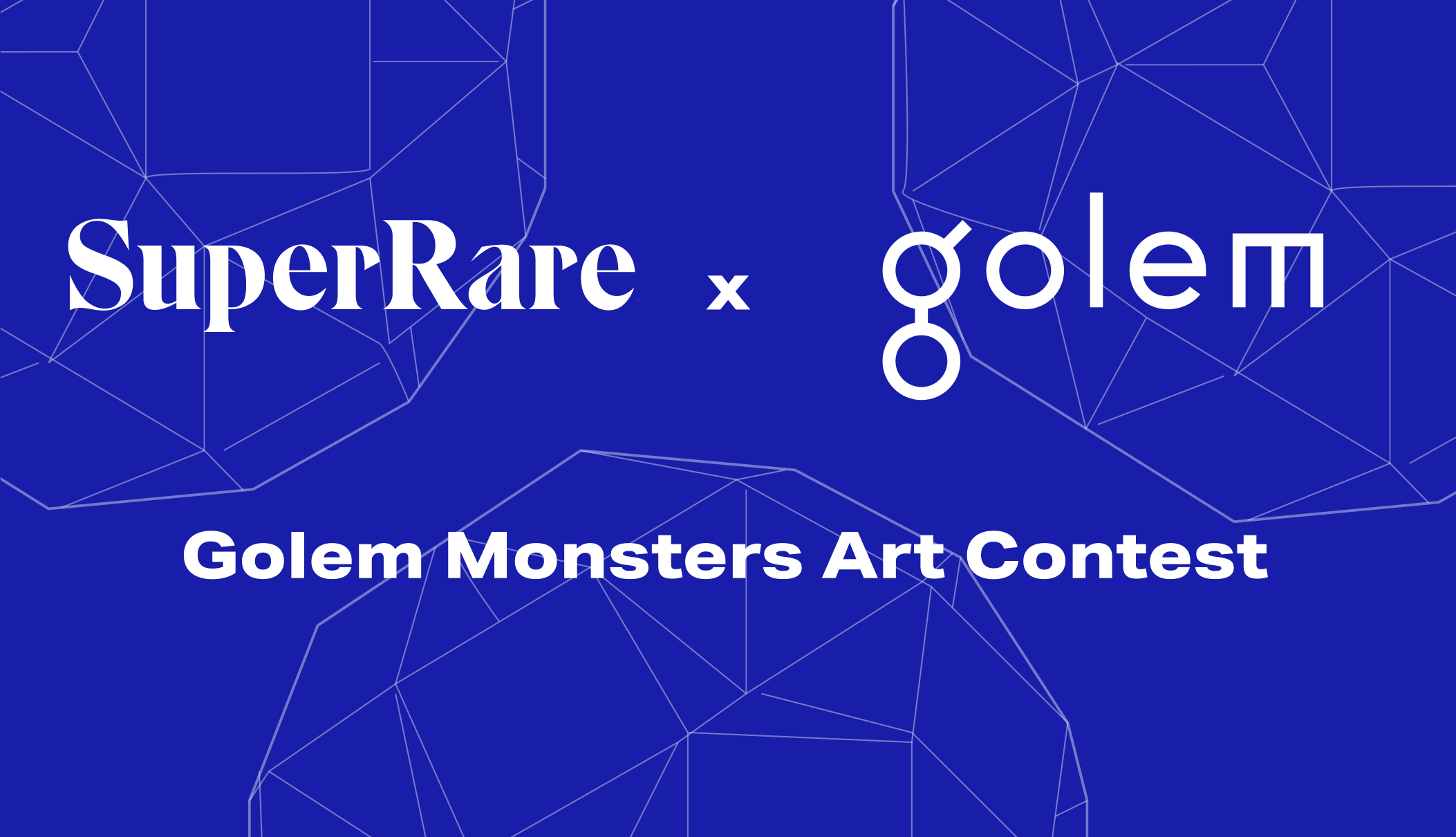 The Golem Monsters x SuperRare Art Contest