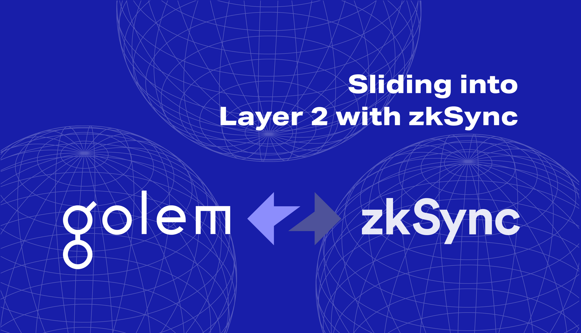 Sliding (we mean - rolling!) into Layer 2 with zkSync🌀: scalability on Golem + Ethereum