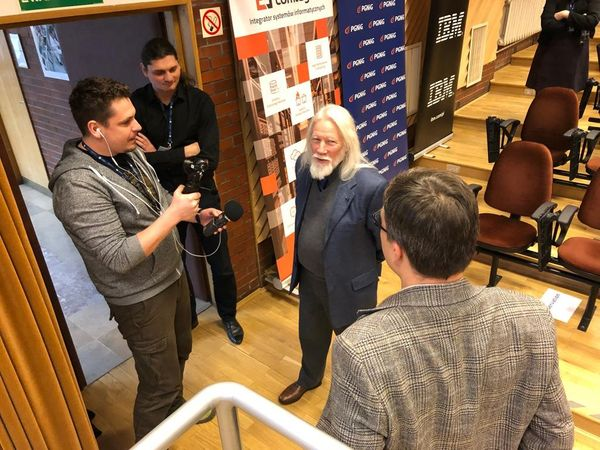 A day with a true pioneer: the Golem Team meets Whitfield Diffie