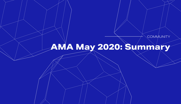 Summary of the Golem AMA May 2020