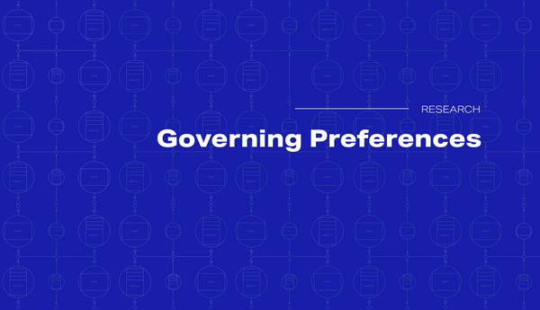 Governing Preferences