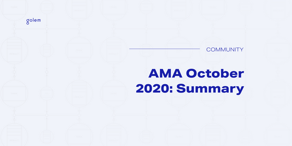 AMA October 2020 Summary