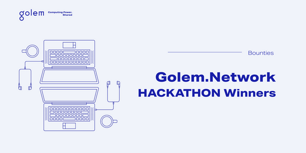 Meet the winners: Golem Gitcoin Hackathon 2020